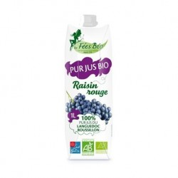 Jus de raisins rouges – 1L...